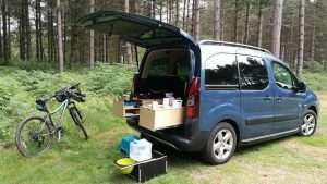 Campal Set up in forest Sept 17