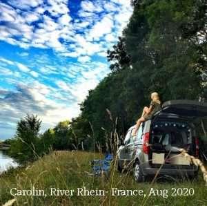 Carolin River Rhein