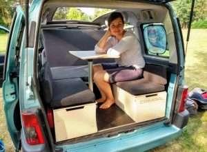 Customer in car 2