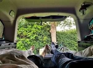 Gilles feet back of van-0001